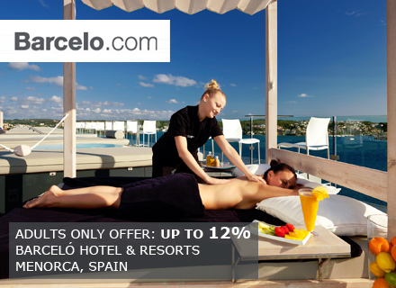 Adults Only Offer Barceló Hotels