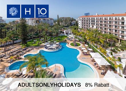 H10 Andalucia Plaza Hotel nur für Erwachsene, Costa del Sol Spanien