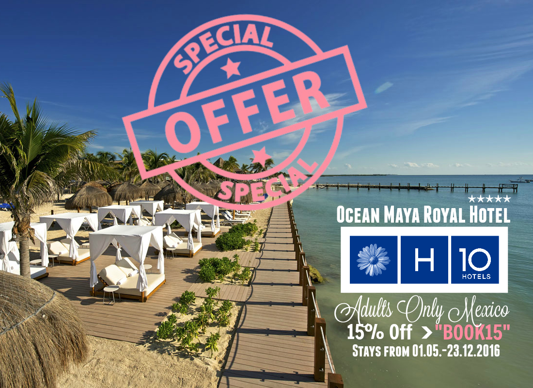 Discount code for Ocean Royal Hotel